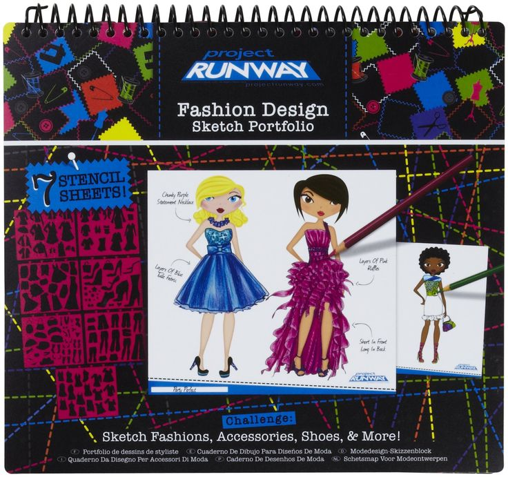 Project Runway Fashion Design Sketch Portfolio Target