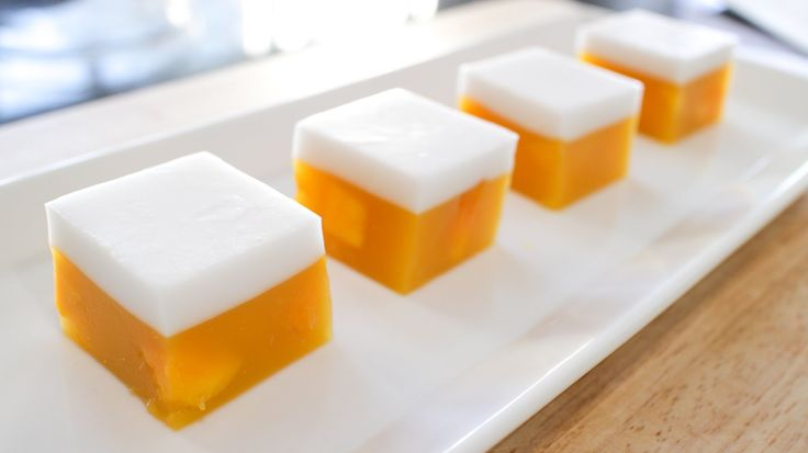 It's the vegetarian sister of gelatin, and the perfect chilled summer dessert. I used to eat wayyyy to much of these when I was growing up, and now I am exci...