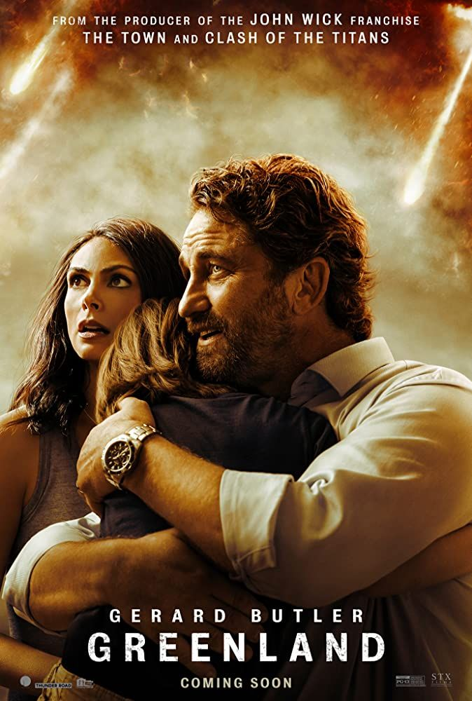 Greenland 2020 Poster New Movie Posters Gerard Butler New Movies