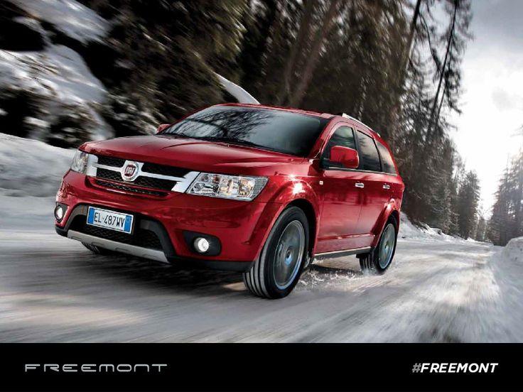 Poczuj wolność i radość z jazdy dzięki Fiatowi #Freemont.