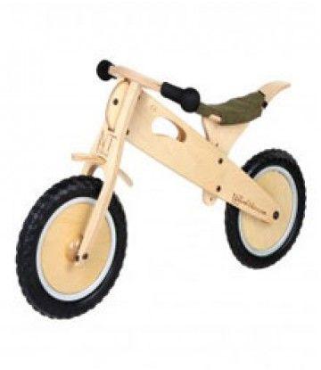 Bicicleta madera Line. Verde de Natural Bikes - Kidsme