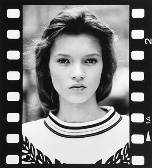 Kate Moss's First Teen Model Photos Up for Auction