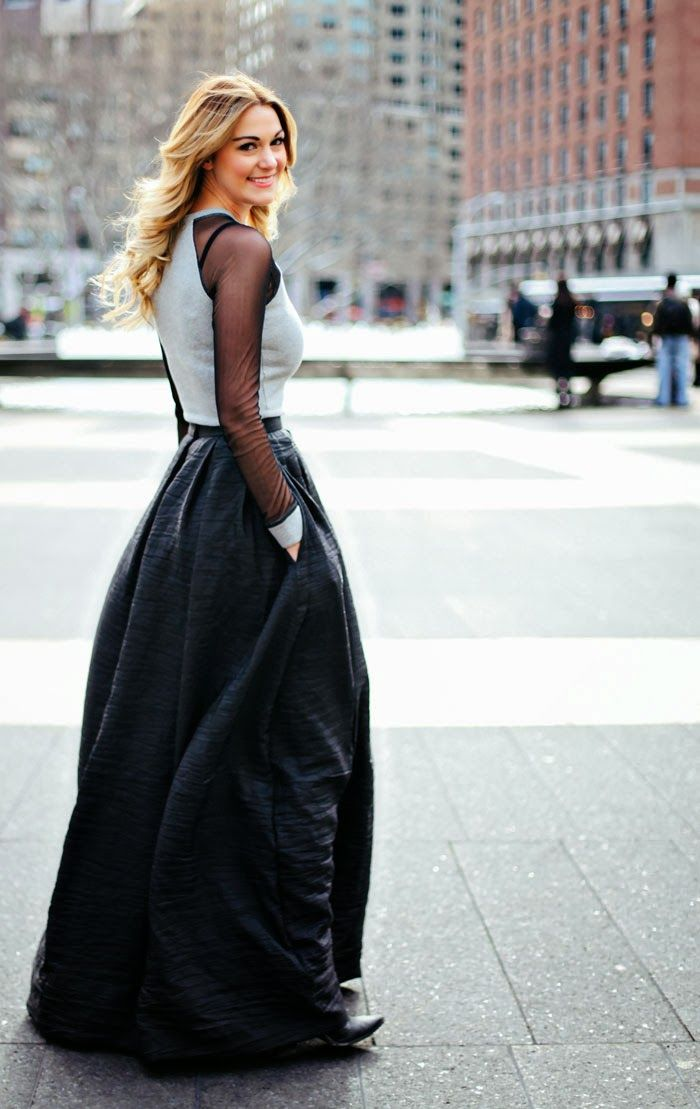 17 Best images about Maxi Skirt on Pinterest | Black maxi skirts ...