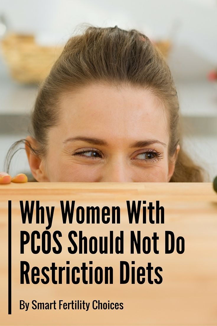In this blog post I talk about the science behind restriction diets and why they don't work for women with PCOS!