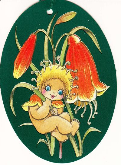 Christmas Bell. The Gumnut Babies as drawn by May Gibbs, Australian author and illustrator