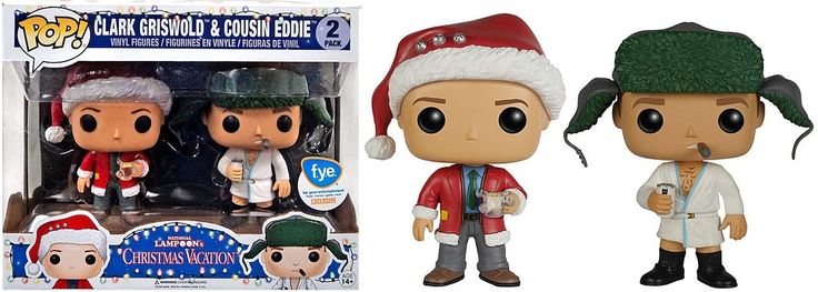 National Lampoon's Christmas Vacation Funko POP! Movies Clark Griswold & Cousin Eddie Exclusive Vinyl Figure 2-Pack