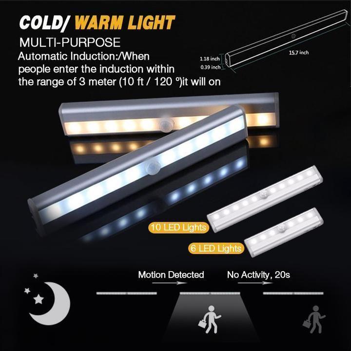 Led Closet Light In 2020 Led Closet Light Closet Lighting Motion Sensor Lights