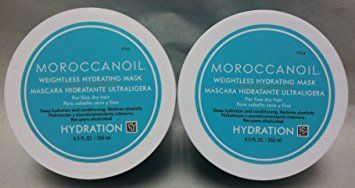 Moroccanoil Weightless Hydrating Mask 8.5 Oz. Set of 2 Review