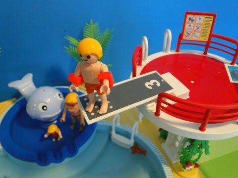 17 meilleures id es propos de piscine playmobil sur for Piscine playmobil 5575