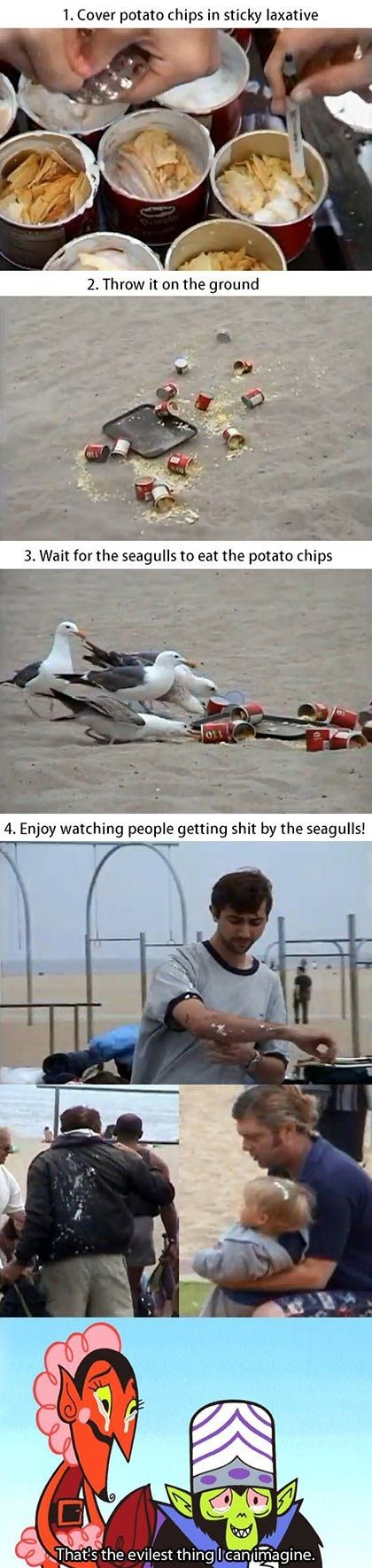 """Prank with People on Beach - Meme """"that's just wrong"""""""