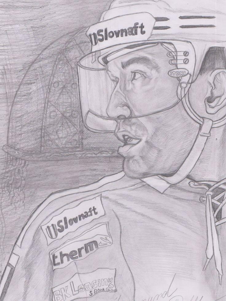 Žigmund Pálffy kresba ceruzkou