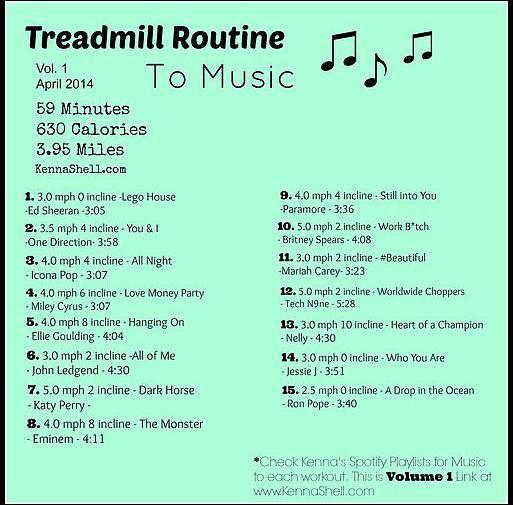 Kenna Shell | Treadmill Routines