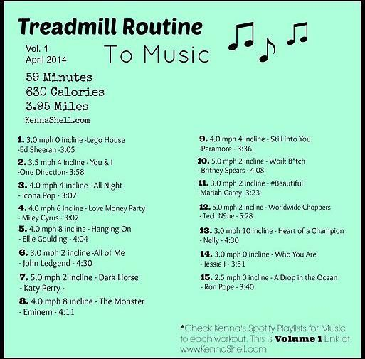 Kenna Shell | Treadmill Routines
