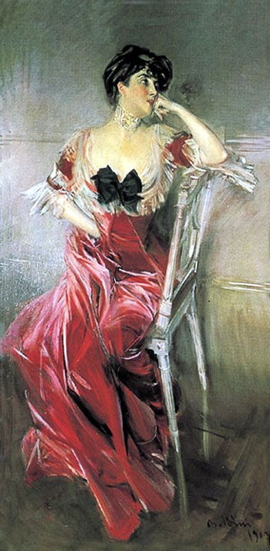 Giovanni Baldinin paintings | Miss Bell - Giovanni Boldini - WikiPaintings.org