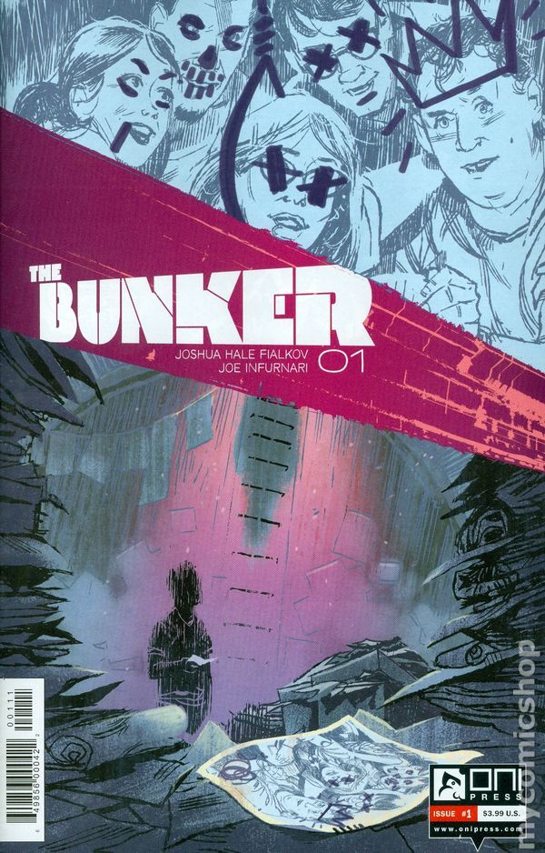 Bunker (2014 Oni Press) 1A  Oni Press Modern Age Comic Book covers