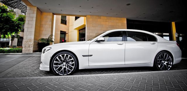 BMW 750Li A girl can dream.