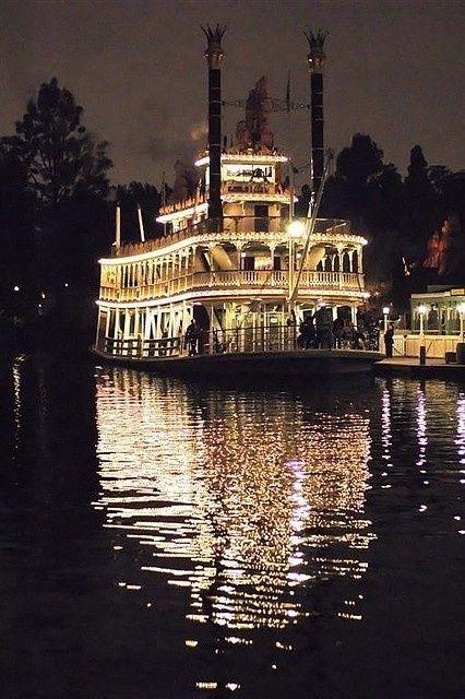 New Orleans steam boat reception for a Disney wedding