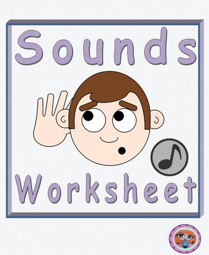 Sound science worksheets for 2nd grade