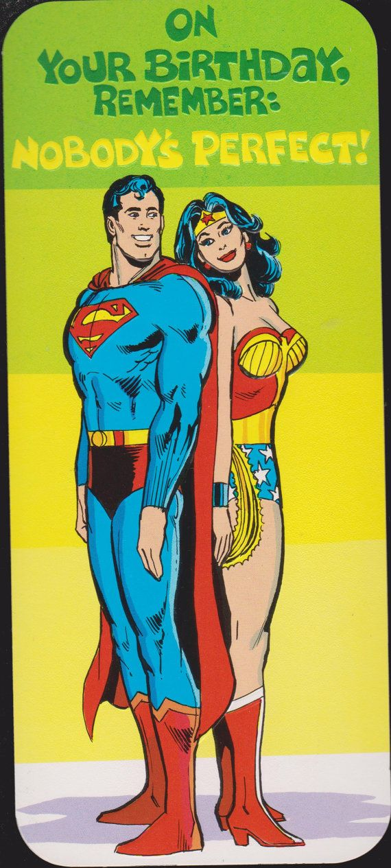 1978 SUPERMAN And WONDER WOMAN Retro Studio By Vintagerecycling