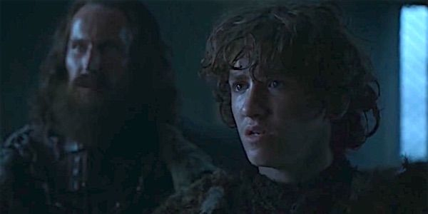 One of the most talked about moments from last week's episode of  Game of Thrones  involved none other than Rickon Stark. The young actor who plays Rickon recently shut down a major theory revolving around this character.