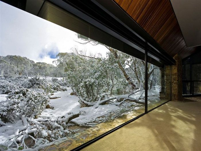 Snow Australia - house at Dinner Plain Village, Mount Hotham, Victoria #snowaus