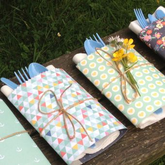 Picnic Cutlery Wraps | Craft Ideas & Inspirational Projects | Hobbycraft