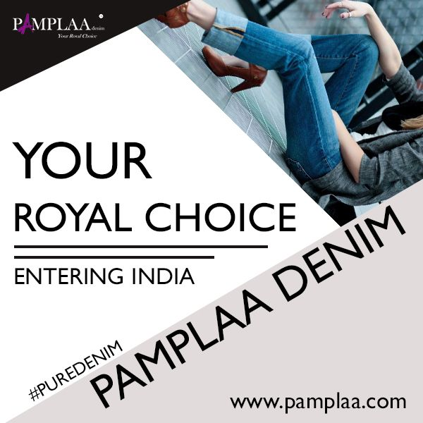 Pamplaa denim entering India with pure authentic denims, stay tuned for more.  #puredenim #royalchoice #authentic #denimfashion #jeans