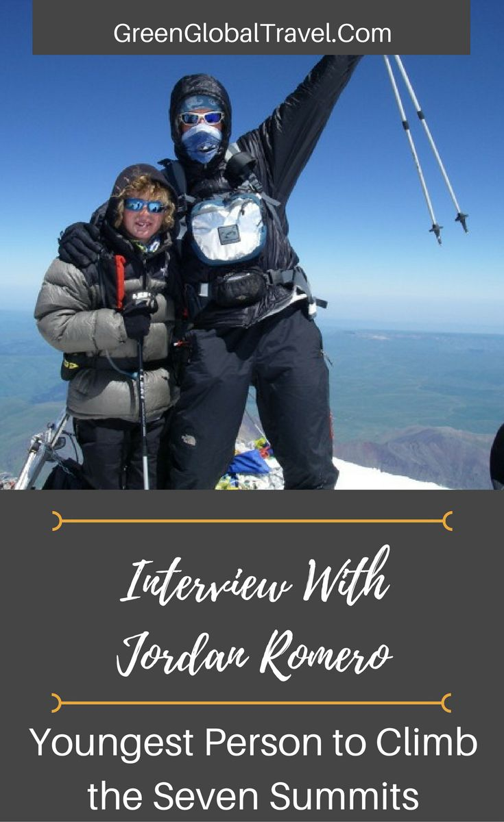 Meet Jordan Romero, the youngest person to climb the seven summits! | Mount Everest | Mount Vinson | Antarctica | Climbing | Kilimanjaro |