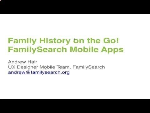 11) FamilySearch Mobile Apps - YouTube ARCHIVE, CEO, CLOUD, CLOUD
