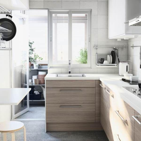 Světlé kuchyně IKEA - inspirace a galerie   Favi.cz