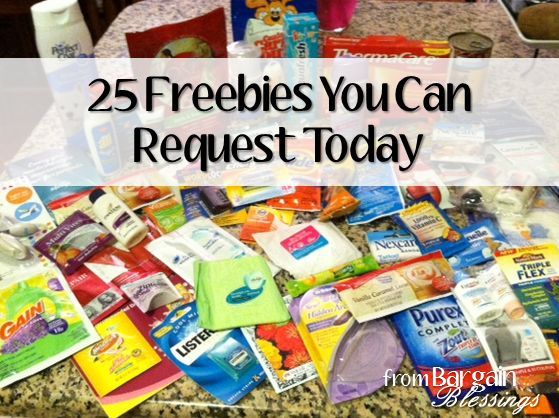25 Legit Freebies You Can Request Today! http://www.bargainblessings.com/25-freebies-you-can-request-today/