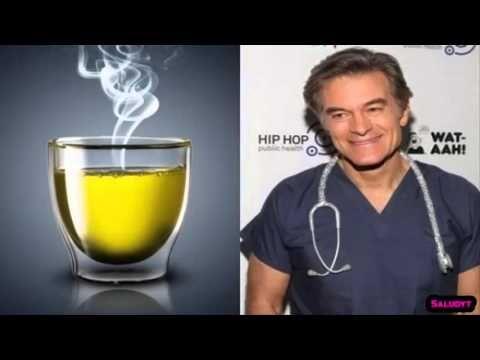 Dr. Oz recibe amenazas por mostrar una bebida que va quemando grasa. Mira como hacerla AQUÍ.! - YouTube
