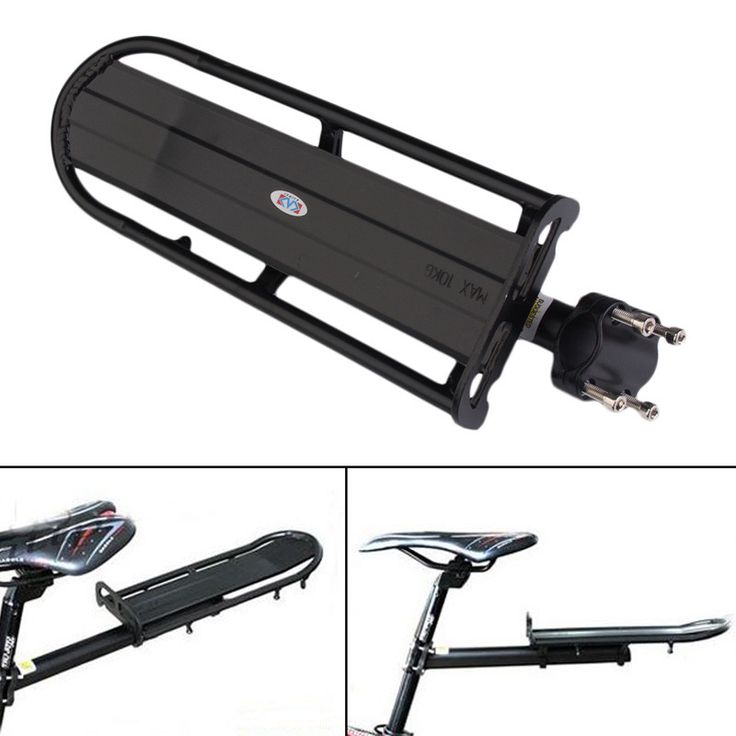 Bike Carrier Rack High-strength Aluminum Alloy Bicycle Rear Cargo Rack Bike Touring Bag Panniers Carrier Fender Adjustable EA14