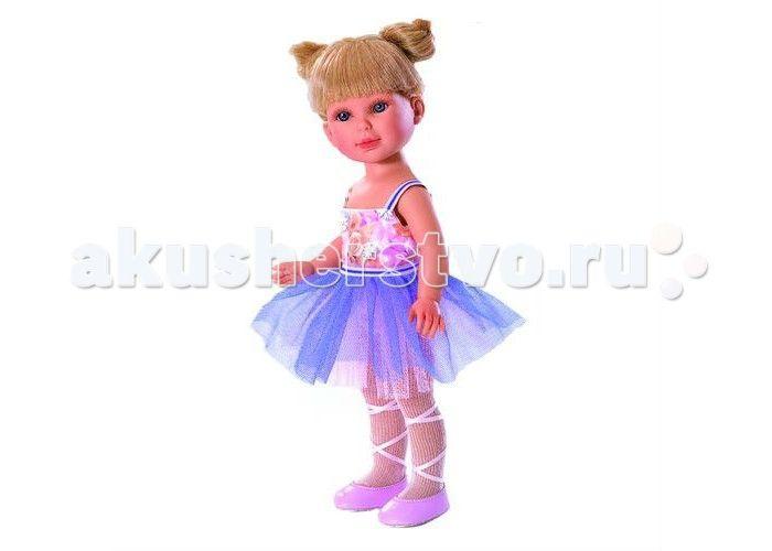 Vestida de Azul Паулина балерина  Vestida de Azul Паулина балерина - эта эксклюзивная кукла-балерина поразит своим воздушным образом, роскошной прической и невероятно реалистичной внешностью.  Особенности: Милая балерина Паулина в нежном образе: платье с цветочным топом и сиреневой юбкой-пачкой, светлые колготки и розовые пуанты с атласными лентами  Волшебный образ балерины для незабываемых сюжетно-ролевых игр У куклы очень приятное и милое личико: щечки с легким румянцем, слегка вздернутый…