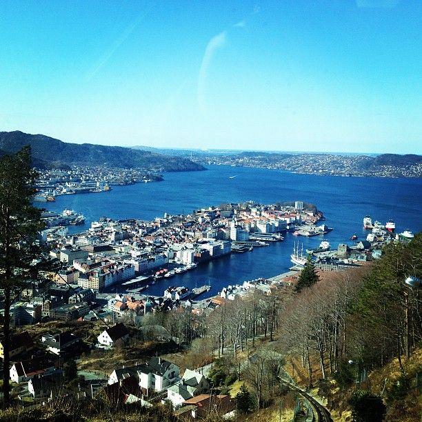 Fløien i Bergen, Hordaland