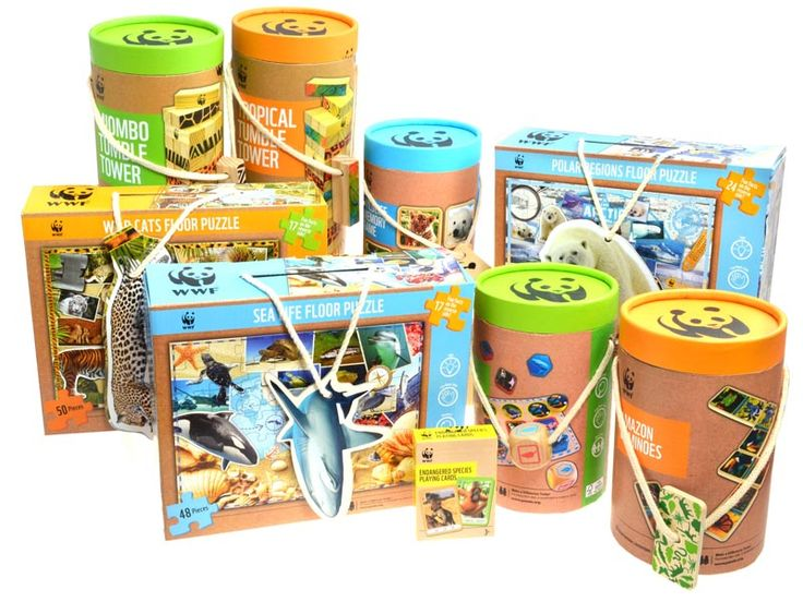 The WWF whole range is made using a multi-tiered eco-friendly approach. All the wood and paper materials used for the range, including the packaging, come from FSC (Forestry Stewardship Council) certified forests, including the plywood, pine wood, and beechwood. Materials are further minimised by including the instruction manual and educational content on the tube