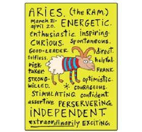 Aries zodiac sign positive traits
