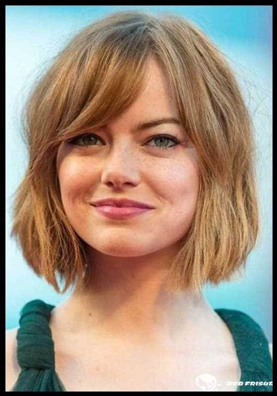 102 trendige Frisuren für ein rundes Gesicht