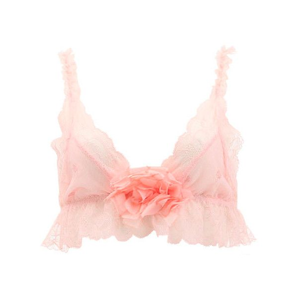 ♥ little bird ♥, frillylacylove: ♡ sally jones french rose... ❤ liked on Polyvore featuring intimates, bras, lingerie, underwear, pink, tops, pink bras, bralette bras, pink lingerie and lingerie bras