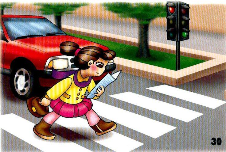 nedávať pozor na dianie okolo seba na ceste
