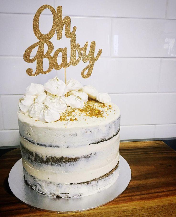 White chocolate mud naked cake... I want one - this girl is amazing!