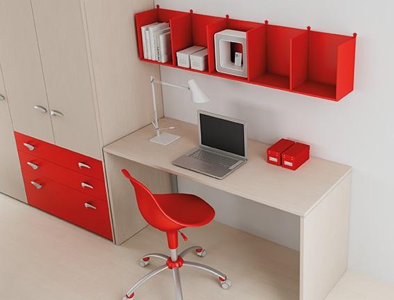 #Arredamento #Cameretta Moretti Compact: Catalogo Start Solutions 2013 >> LH23 #armadio #scrivania #mensole http://www.moretticompact.it/start.htm