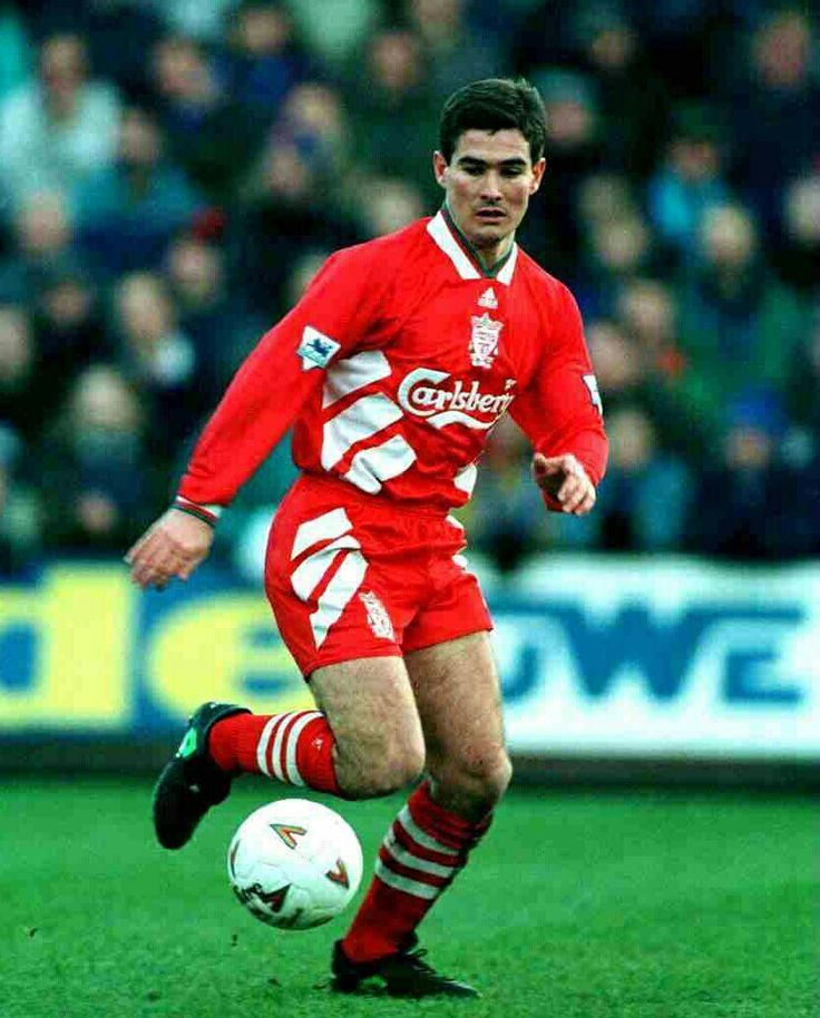 Nigel Clough of Liverpool in 1995.