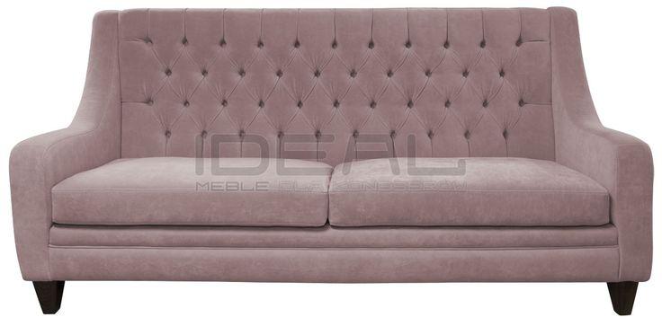 pastelowa sofa chesterfield z wysokim oparciem, pastel chesterfield, pluszowa sofa chesterfield, velvet, fotel,  chesterfield, skórzana, skin, styl angielski, pikowana sofa, pikowany fotel, grey, sofa chesterfield, sofas,  armchair ,   pastelowa, turkusowa, różowa, łososiowa, kremowa, pastelowy, turkusowy, seledynowy, łososiowy, kremowy, bonelle, PasteLove ,   sofa_chesterfield_mild_IMG_1372b.jpg (1200×593)