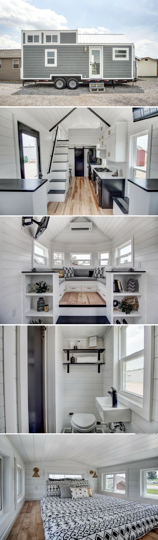 The Kokosing 2 from Modern Tiny Living (256 sq ft)