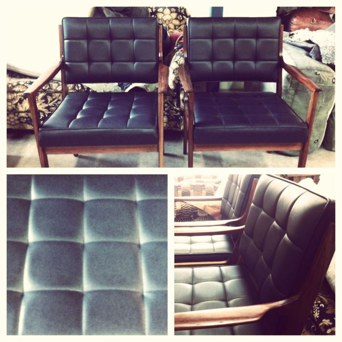 Complete restoration in leather