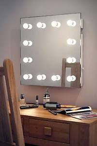 Diamond X Wallmount Hollywood Makeup Mirror Warm White Dimmable LED k411WWbath