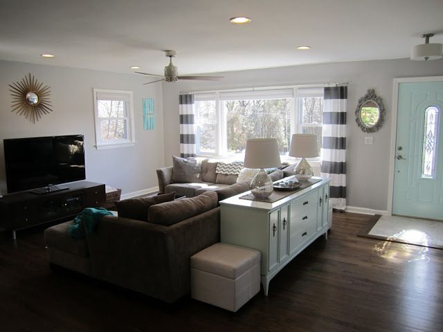 Retro Ranch Reno  This is very ideal and a realistic look for the new living room.. its perfect!
