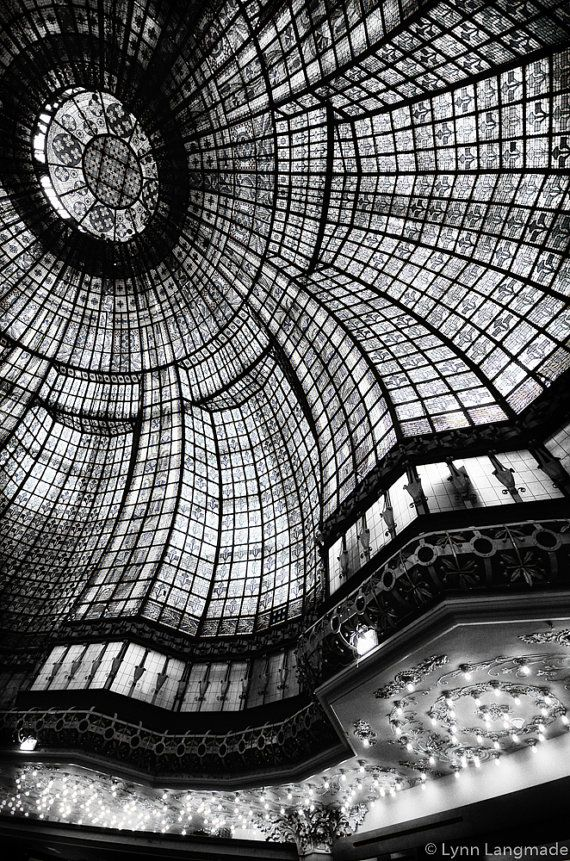 Paris black and white paris printemps stained glass 24x36 16x24 photography paris wall decor travel 8x10 photo fashion looking glass ii