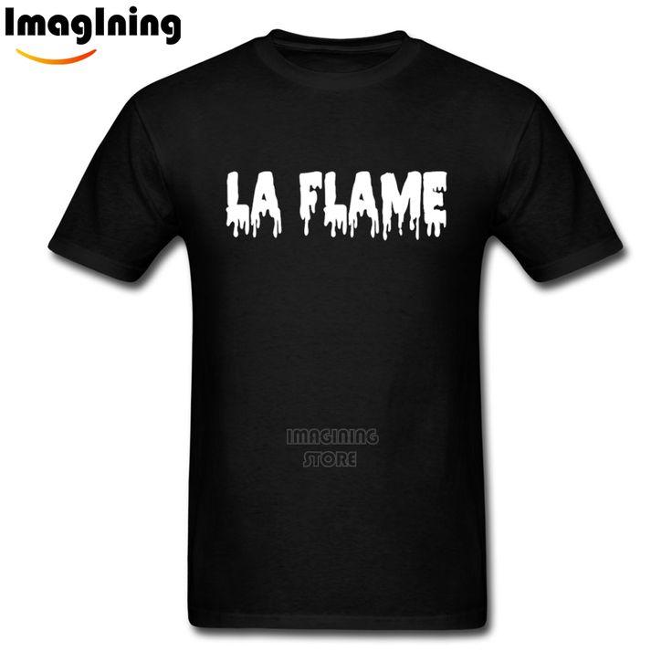 For Men's Novelty Cool Rodeo Tour Travis Scotts La Flame Cotton T-shirt  Short Sleeve O-Neck Cotton XXXL Man T Shirts #Affiliate